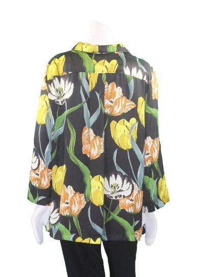 Alembika Tulip Button Front Blouse RT401T