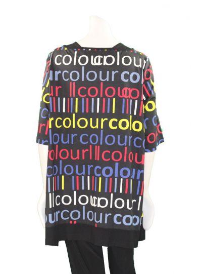 Chalou Plus Size Multi Colour Tunic S8322