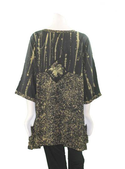 Lyng Designs Plus Size Brass Joy Polt Tunic 1504