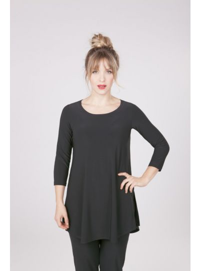 Sympli Black Go To Tunic 2382-2