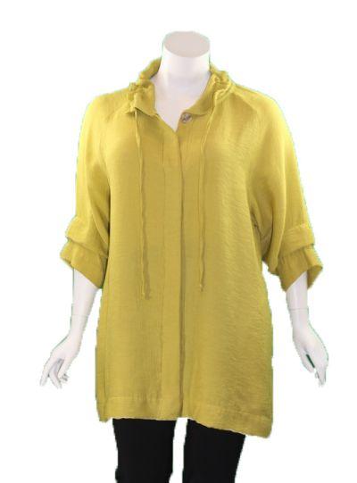 Cut Loose Pea Plus Size Cloak Button Jacket 6168318
