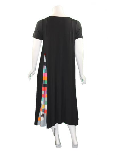 Ralston Black/Multi Squares Orla Dress 63566