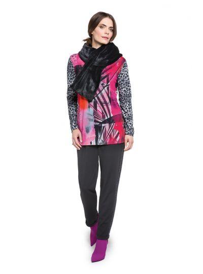 Doris Streich Plus Size Multi Printed Pullover Tunic 211-511-43