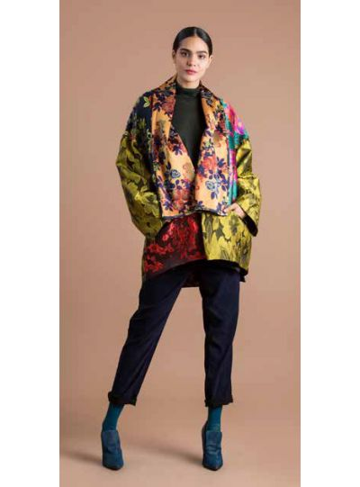 Alembika Multi Floral Open Jacket AJ301M