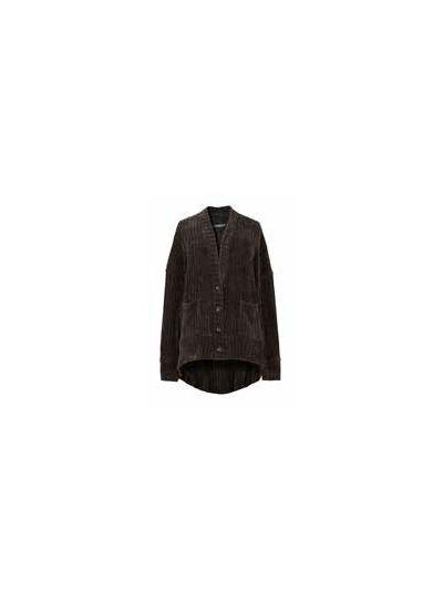 Alembika Black High Low 2 Pocket Sweater AJ330B