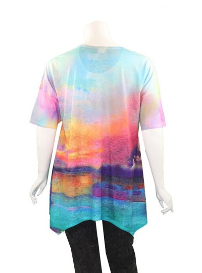 Et' Lois Plus Size Rainbow Holly Shirt C3300-190