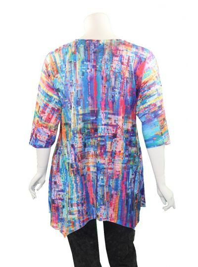 Et' Lois Plus Size Multi Holly Shirt C3300-191