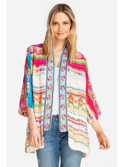 Johnny Was Multi Maci Kimono C47619B4