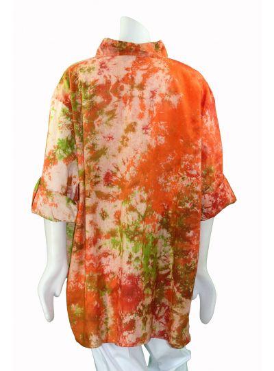 Dilemma R/O/L Cotton Tab Shirt GDB 396