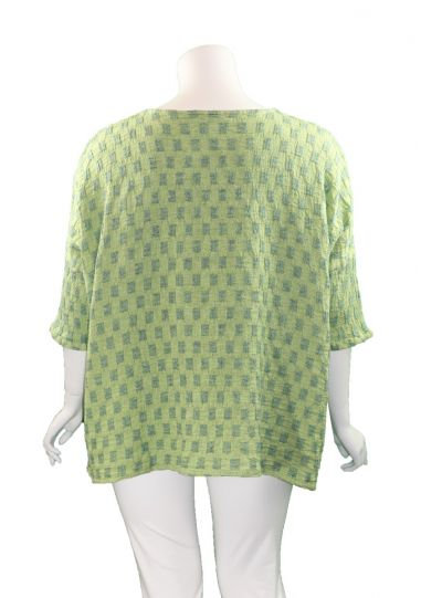 Cut Loose Endive Oversized 2 Pocket Tunic 5276024
