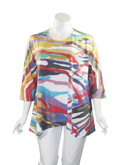 Atelier 5 Plus Size Scallop Pullover Tunic SPTU11-17FW26