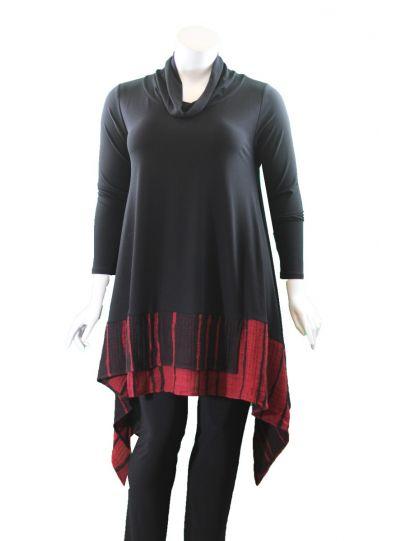 Igor Black/Red Tria Pullover Tunic W19-120