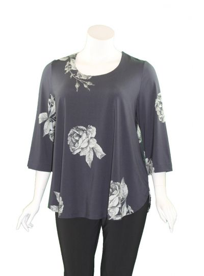 Ralston Navy/Rose Printed Zefas Tunic 71522