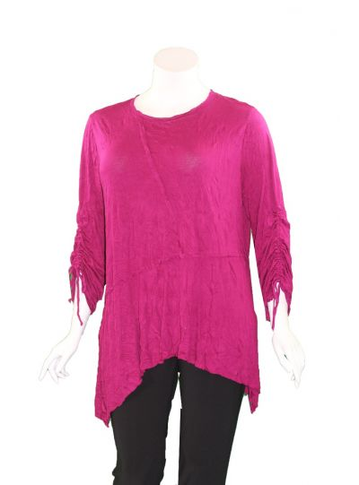 Chalet Plus Size Amaranth Angelina Tunic XC83492