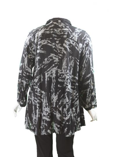 Adverb Plus Size Lead Anywhere Shirt 7024