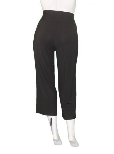 Q' Neel Plus Size Black Pull On Pant 81898-2428-90