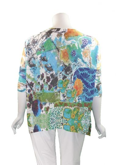 Atelier 5 One Size Pullover Printed Tunic LNTU13-17SS88