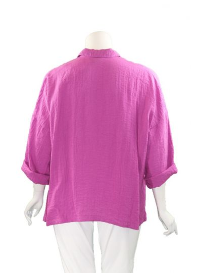 Gerties Plus Size Amaranth Big Shirt 11002156