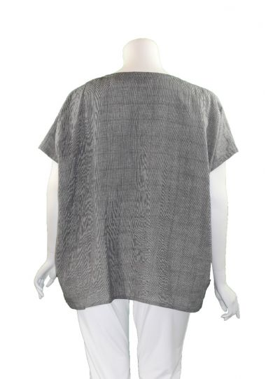 Moyuru Grey Short One Pocket Tunic 201505