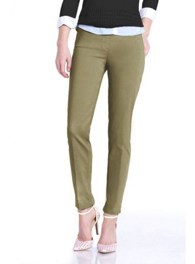 Multiples Plus Size Vintage Sage Ankle Pant M2623PW