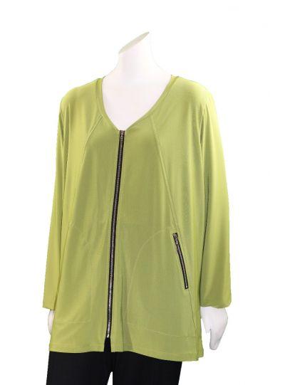 Comfy/Sun Kim Plus Size Citrus Austria Tunic Jacket SK508