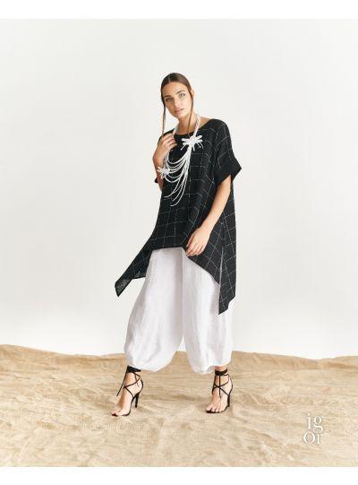 Igor Black/White Leona Over Sized Tunic S19-99