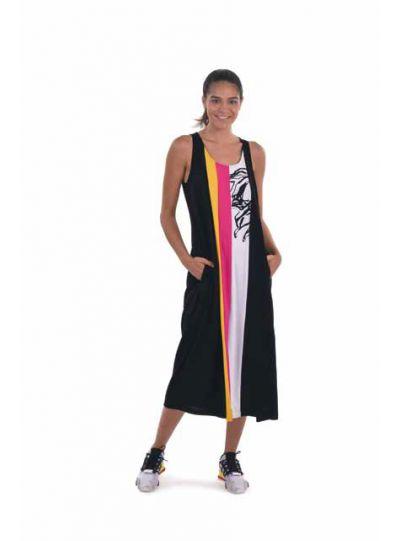 Tekbika Multi Color Block Dress TD104M