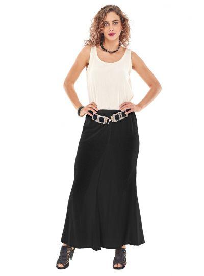 Oh My Gauze Black Mermaid Skirt