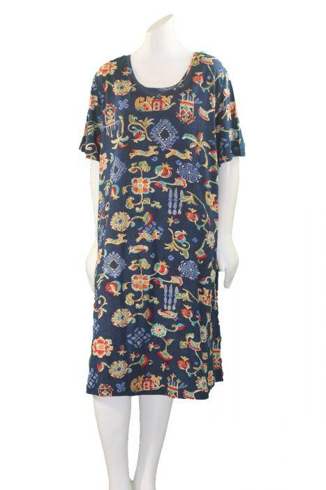 La Cera Plus Size Short Knit Dress 2522xl 3457